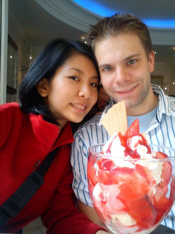 thank you so much Asian Kisses, for bringing us together :)<br>i met my husband here at asian kisses on April 2009, after a long way finally we getting married last January 2011. and now we live in Germany....